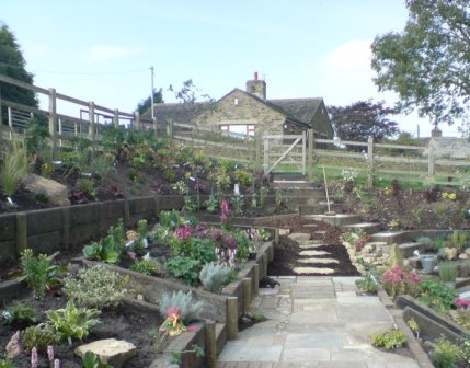 Cottage Garden in Ripponden