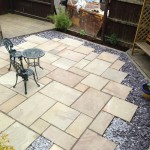 Indian Paving Patio after