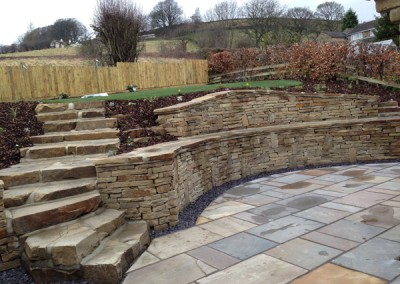 Back Garden and Stone Patio Makeover