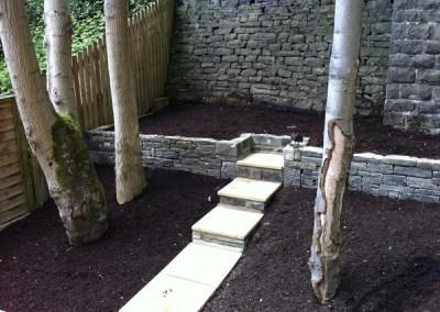Small Back Garden in Ripponden